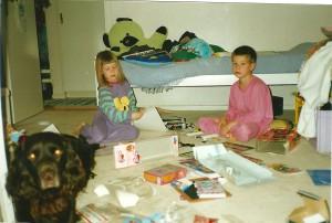 Angelica Norgren och hennes bror Niklas.