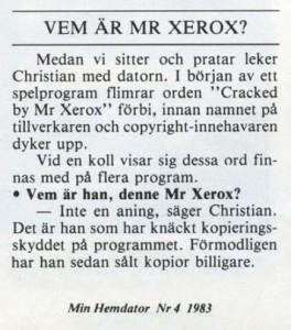 Vem är Xerox?